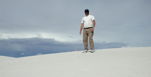 Me at the other end of the Dunes